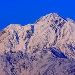 2月の五竜岳