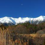 晩秋の御嶽山