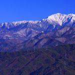 冬の仙丈ケ岳