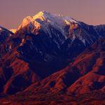 冬至の甲斐駒ケ岳