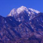 冬の甲斐駒ケ岳
