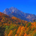 精進ヶ滝林道より甲斐駒ケ岳