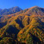 紅葉の地蔵岳観音岳