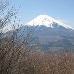 越前岳より望む富士山