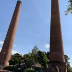 炭鉱節の煙突
