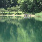 山梨県四尾連湖